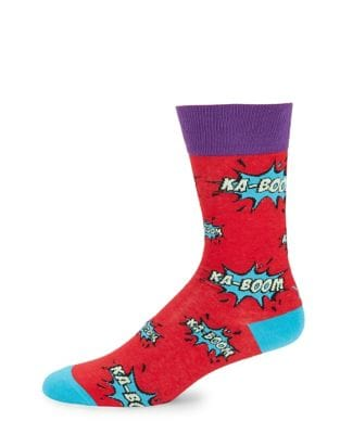 Kaboom Casual Socks @...