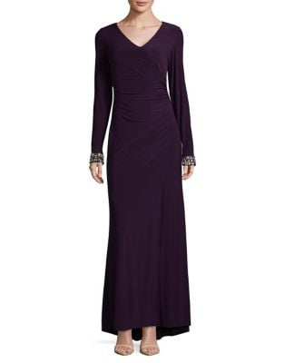 Wrap Evening Gown by Vince Camuto