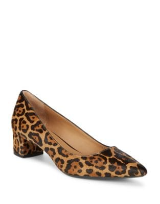 Genovea Calf Hair Pumps by Calvin Klein