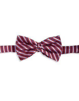 Boy's Striped Silk Bow...