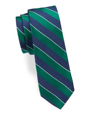 Boy's Striped Silk Tie...