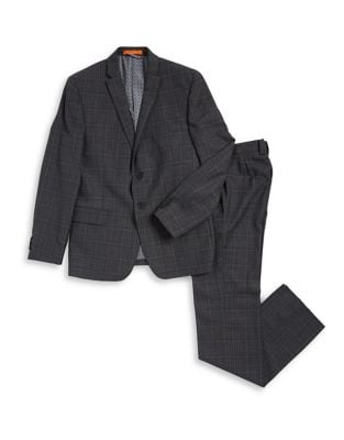 Boys Checkered Suit