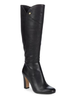 Zanda Leather Tall Boots by Louise et Cie