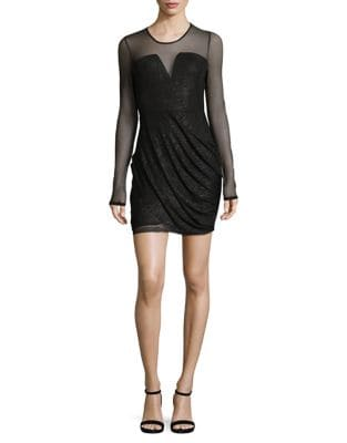 Ruched Dress by Calvin Klein