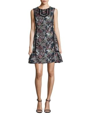 Floral Jacquard Shift Dress by Laundry by Shelli Segal