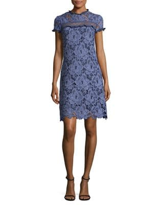 Ruffled Floral Sheath Dress by Laundry by Shelli Segal