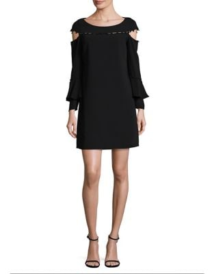 Button-Down Cold Shoulder Dress by Laundry by Shelli Segal