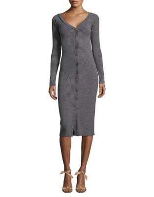 Long-Sleeve Knit Dress by Wayf
