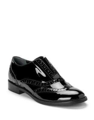 Hadley Patent Leather Oxfords by Vionic