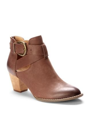 Rory Leather Booties by Vionic