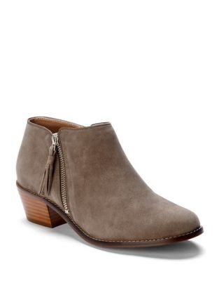 Serena Suede Booties by Vionic