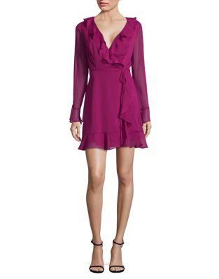 Lace Wrap Dress by Wayf