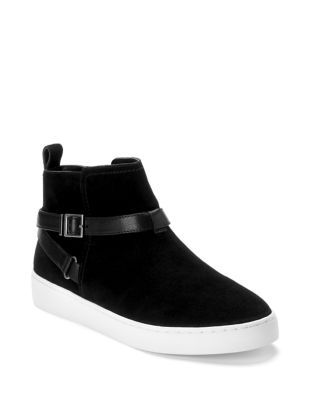 Mitzi Suede Sneakers by Vionic