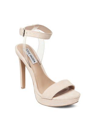 Casita Suede Platform Sandals by Steve Madden