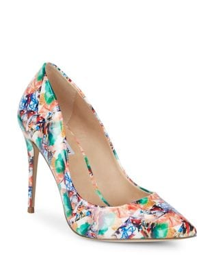 Daisie Mixed Print Pumps by Steve Madden