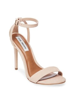 Lacey Stiletto Suede Sandals by Steve Madden