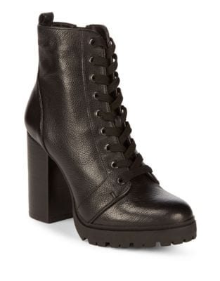 Laurie Leather Boots by Steve Madden