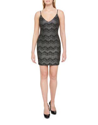 Strappy V-Neck Dress by Guess