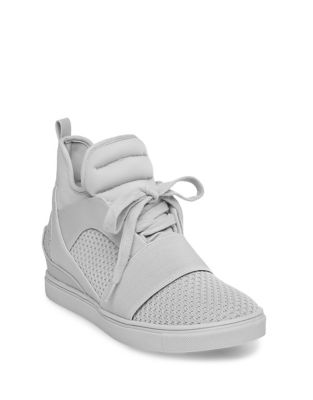 Lexi High Top Lace-Up Sneakers by Steve Madden