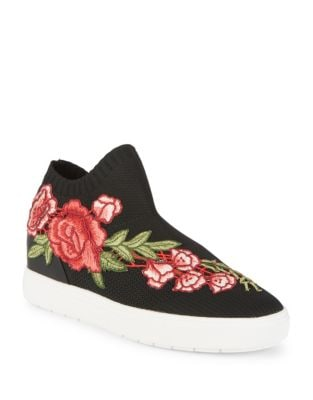 Floral Knit Sneakers by Steve Madden