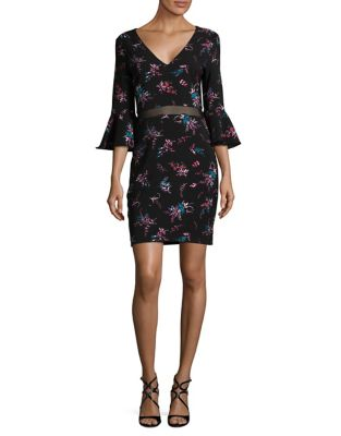 Floral Sheath Dress by Guess