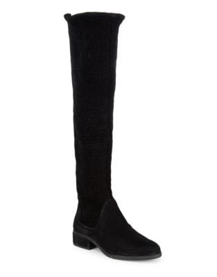 Naomi Suede Knee-High Boots by IMNYC Isaac Mizrahi