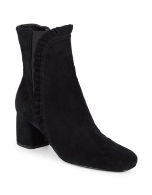 Shelby Kid Suede Booties by IMNYC Isaac Mizrahi