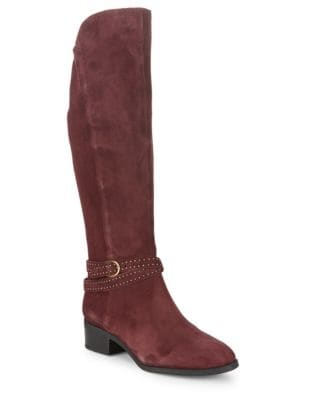 Suede Riding Boots by Bandolino