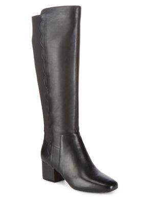 Leather Riding Boots by Bandolino