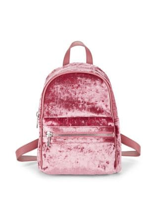 Crushed Velvet Backpack 500087556195