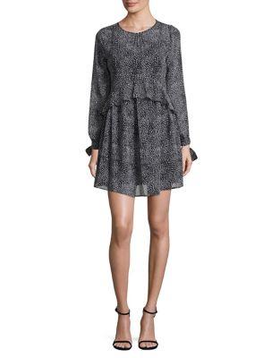 A-Line Long-Sleeve Dress by Sam Edelman