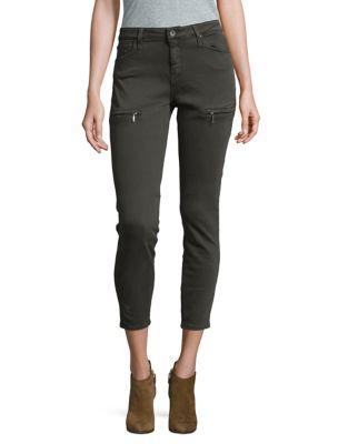 Military Twill Skinny Jeans 500087557563