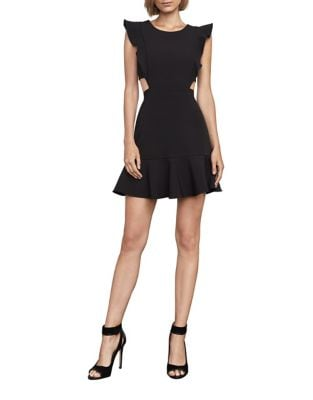 A-Line Cutout Dress by BCBGMAXAZRIA