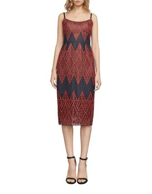 Spaghetti Sheath Dress by BCBGMAXAZRIA