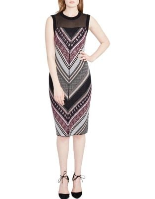 Printed Bodycon Dress by RACHEL Rachel Roy