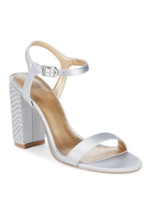 Yvanna Open Toe Sandals by Belle Badgley Mischka