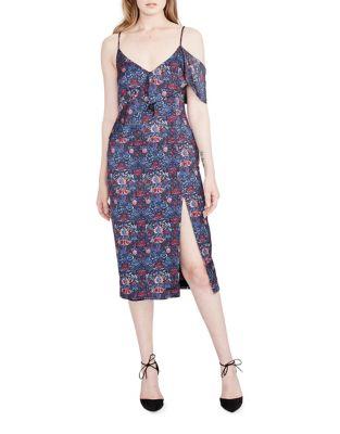 Ruffled Midi Dress by RACHEL Rachel Roy