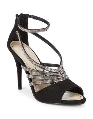 Judith Suede Stiletto Sandals by Caparros