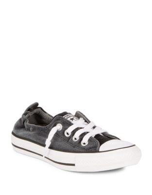 Classic and Shoreline Velvet Slip-On Sneakers by Converse