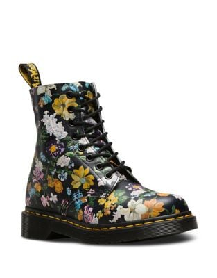 Pascal Leather boots by Dr. Martens