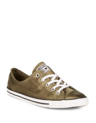 Classic Dainty Satin Sneakers by Converse
