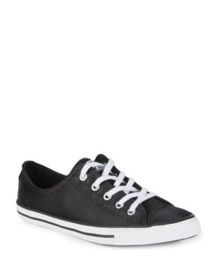 Dainty Satin Sneakers by Converse