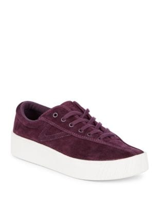 Nylite Suede Low-Top Sneakers by Tretorn