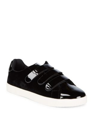 Carry Patent Leather Low-Top Sneakers by Tretorn