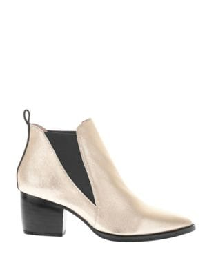 Bruno Leather Chelsea Boots by Sol Sana