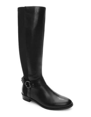Robbie Knee-High Leather Boots by Tahari