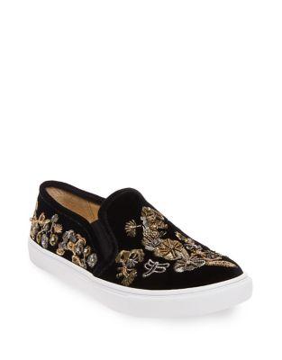 Ellie Velvet Sneakers by Betsey Johnson