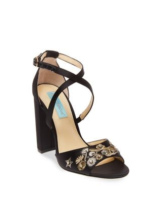 Finly Satin Pumps by Betsey Johnson