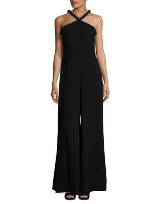 Crepe Extra Wide-Leg Jumpsuit by Karl Lagerfeld Paris
