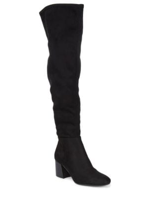 Kantha Microsuede Knee-High Boots by Vince Camuto